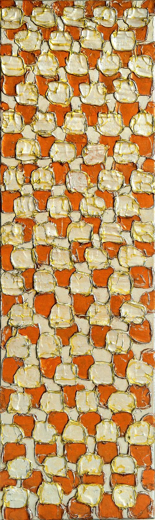Spachteltechnik Relief Kunst Gemälde