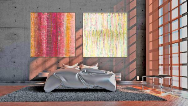 Interieur_beispiel_Acryl abstrakte Kunst