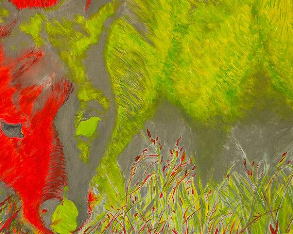 Kaenguru abstrakte Malerei